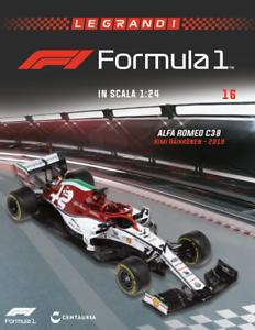 NEWS: 1:24 F1 ALFA ROMEO C38 Kimi Raikkonen MONZA 2019 ALTAYA +MAG.no MINICHAMPS