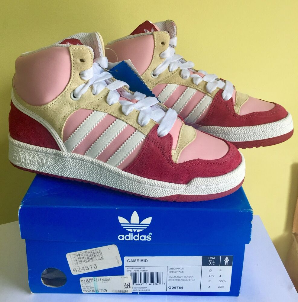 NEW NEW NEW ADIDAS ORIGINALS GAME MID Femme Taille US US Taille G   Simple D'utilisation  3456a2