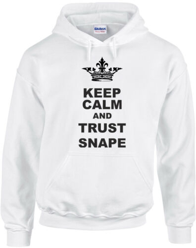 Harry Potter inspired Printed Hoodie Keep Calm And Trust Snape