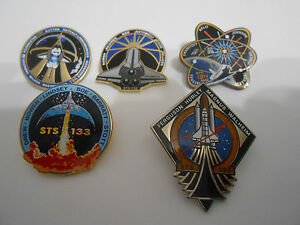space shuttle mission pin set - photo #1