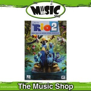 Details about New Rio 2 Movie Soundtrack PVG Music Book - Piano Vocal Guitar