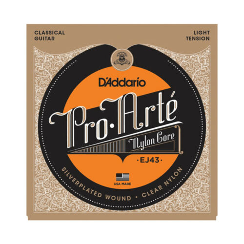 D/'ADDARIO EJ43  NYLON CORE 27.5-42 CLASSICAL ACOUSTIC GUITAR STRINGS 2 PACK