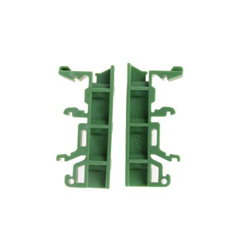 Durable PCB placa de circuito de adaptador de carril DIN C45 de montaje del soporte de soporte FAD Fo