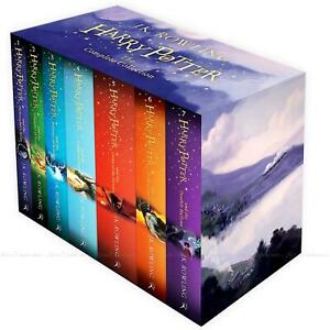 Harry-Potter-The-Complete-Collection-by-J-K-Rowling-Children-7-Books-Box-Set