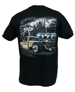 'the Dually' Bagged Truck Shirt Bagged C30 Shirt - Classic Truck Mens Shirt