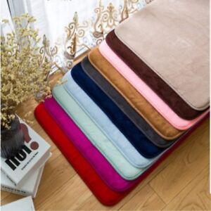Absorbent Soft Memory Bathroom Mat/No-slip Mat/Rug Bedroom,Floor&<wbr/>Shower,kitcthe<wbr/>n