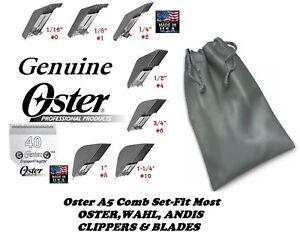 Oster Attachment Guide Peigne Set&cryogenx Blade Convient À A5 A6,