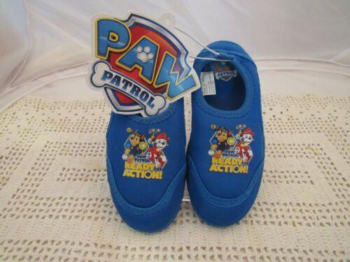 2562 PAW PATROL Boys Shoes Boat Swim Beach Sandals Clogs Water Shoes Medium 7//8