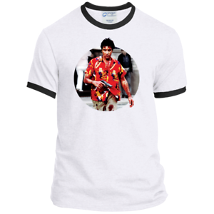 Details About Scarface Tony Montana Gangster Hawaiian Shirt Al Pacino T Shirt