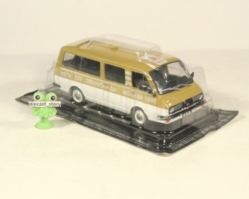 1:43 Bus RAF Labbe Armored 2203 22038 Police Latvia 2907 Olympic russian USSR