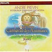 Saint-Saëns: Le Carnaval des animaux; Ravel: Ma Mère L'Oye (1983) CD