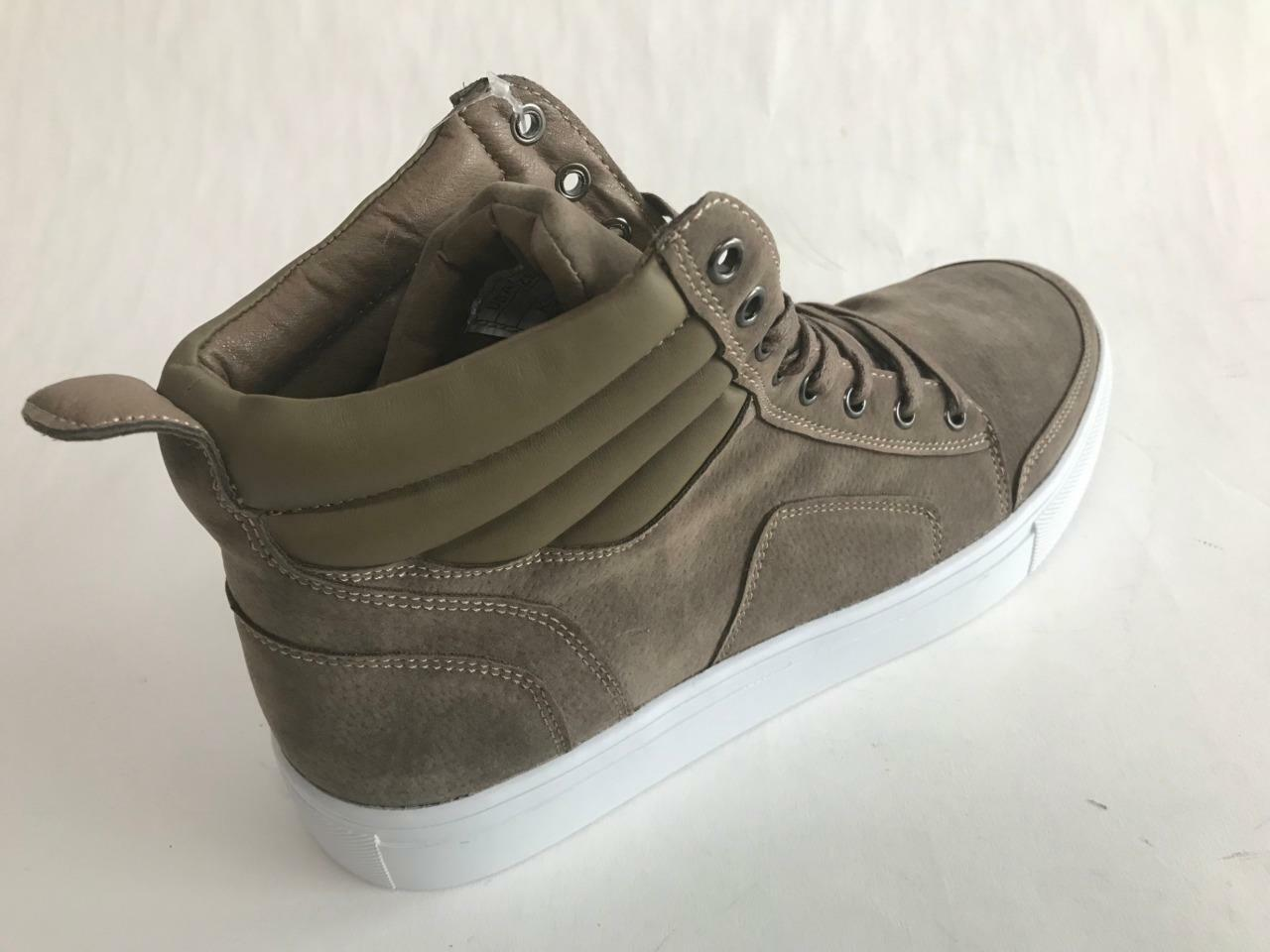 Tayno Suede Karo Fashion High Top Suede Tayno Feel Sand Sneakers 8.5,9,9.5,10.5,11,12,13 0cc484