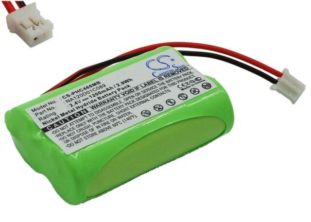 Batterie 2.4V 1200mAh type 310412893522 NA120D01C089 pour Philips SBC-SC487