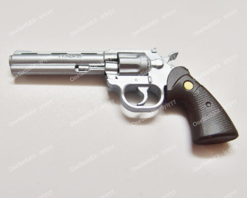 OneSixthKit 1//6 Scale Colt Python .357 Magnum Caliber Revolver For Rick Custom