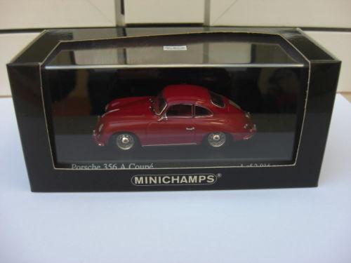 Porsche 356 A A A coupe 1959 rojo Minichamps 400064220 MIB 1 43 911 914 959 MEGA RARE 2353ec