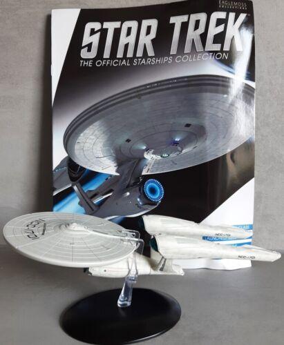magazi U.S.S Enterprise ncc-1701 Starship Model Special Edition 2 Eaglemoss-eng