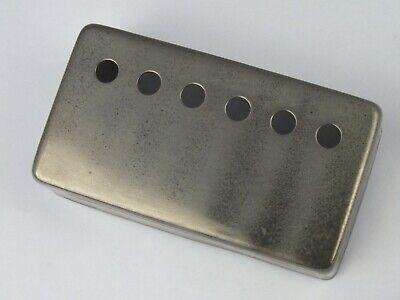 Nickel or Chrome German Silver; 50//52mm; PAF//3x3//6x6 Humbucker pickup cover