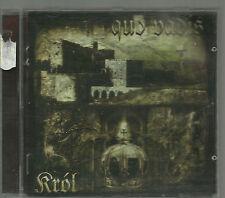 QUO VADIS - KROL 2002 CONQUER RECORDS RARE OOP CD POLISH DEATH METAL CD POLAND
