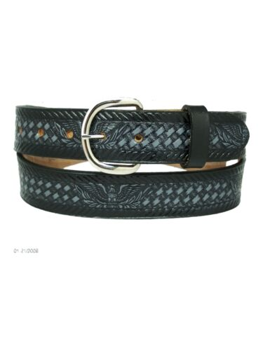 Men/'s New Leather Cowhide Belt 46 48 50 52 54 56 58 60