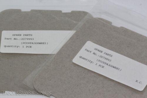 2 x GENUINE SHARP micro-onde Vague Guide Housse PCOVPA 308WRE1 Compatible avec de nombreux modèles