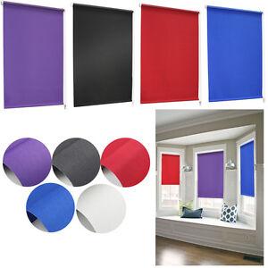 klemmfix rollo verdunkelungsrollo verdunklungsrollo seitenzugrollo ohne bohren ebay. Black Bedroom Furniture Sets. Home Design Ideas