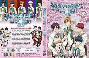ANIME-DVD-Starmyu-Season-1-2-1-24End-2OVA-Eng-sub-amp-All-region-FREE-CD