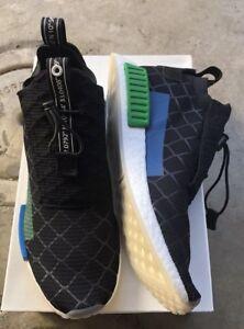 98ab983dd Adidas NMD TS1 PK Mita Sz 13 Black Blue Green NIB BC0333 Cages
