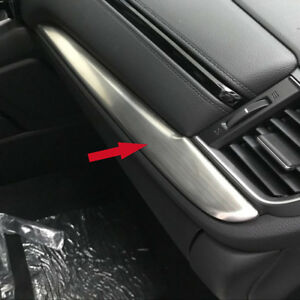Crv 2017 Interior >> Details About Fit For Honda Crv 2017 2018 Interior Center Console Dashboard Cover Trim Silver