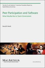 Peer Participation and Software: What Mozilla Has to Teach Government (John D. a