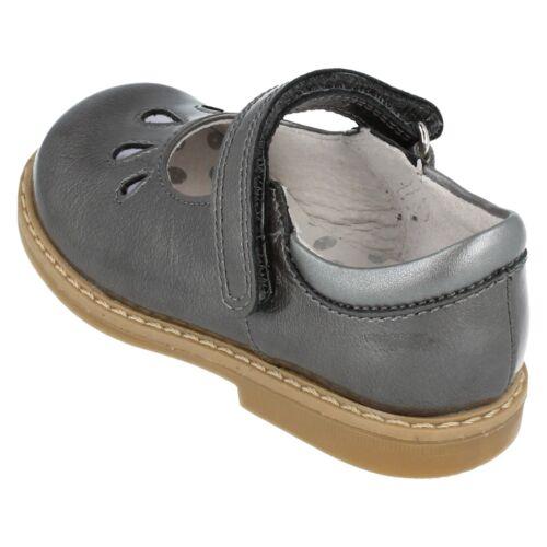 Girls Aqua//Wine//Grey//Bright Pink Patent Leather Startrite Shoes Tamara