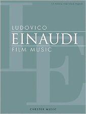 Ludovico Einaudi - Film Music: 17 Pieces for Solo Piano NEU Taschen Buch  Ludovi