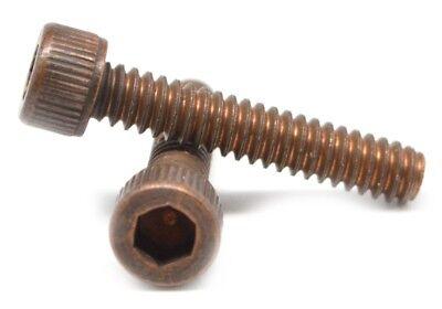 Coarse Thread Socket Button Head Cap Screw Alloy Steel Black Oxide Pk 25 5//16-18 x 1 1//4 FT
