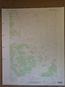 Large-28x22-1967-Topo-Map-Heard-Peak-Idaho-Challis-National-Forest-Sawtooth