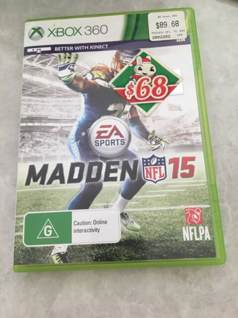 Madden 15 Xbox 360. D1 . Game Over Australia