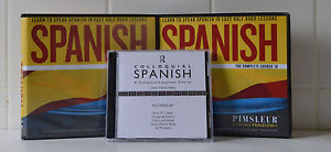 Pimsleur-Spanish-1A-and-1B-18CDS-and-034-Colloquial-Spanish-CD-034