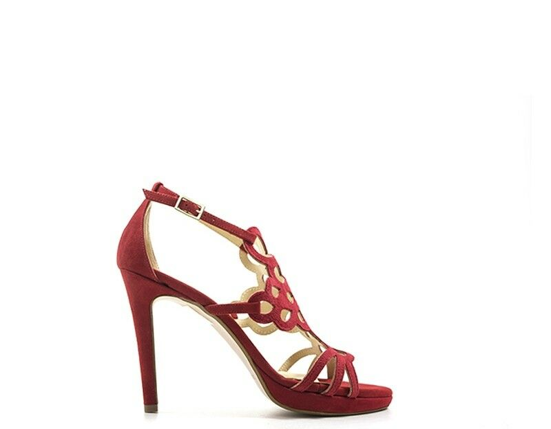 Chaussures Zodiaco Femme rouge Nature Cuir, PU zodc 331.ro.01