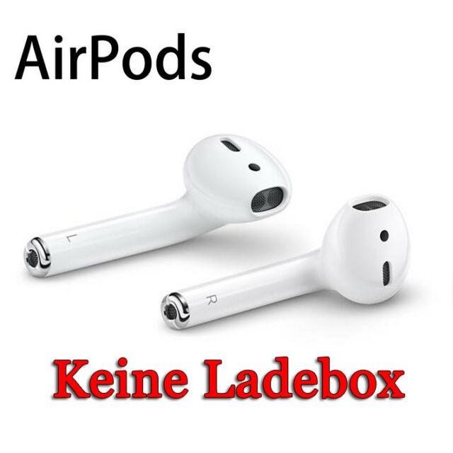Apple AirPods In-Ear Headset Kabellos Bluetooth Wireless Kopfhörer weiß