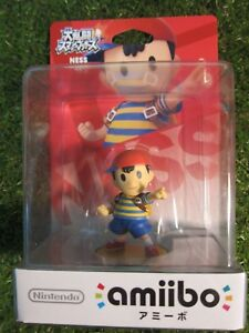 Ness amiibo figure new in box smash bros from Japan From Stylish Anglers Japan