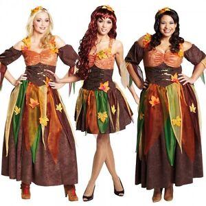 Waldfee Marchen Kostum Damen Fee Elf Karneval Viele Modelle