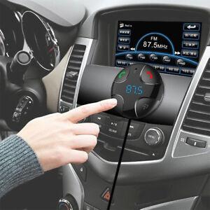 Wireless-Bluetooth-Handsfree-Car-Kit-FM-Transmitter-MP3-Player-Dual-USB-ChargerZ