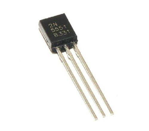 500pcs 2N5551 Transistor NPN 160 Volts 600 mA TO-92 Package