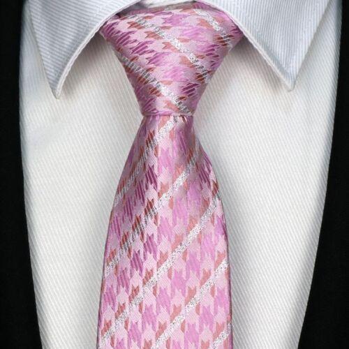 "57/"" Fashion Classic 8CM mens tie Man Silk ties Adult Floral Jacquard Necktie"