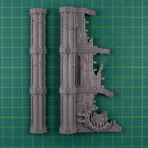 Sector imperialis gussrahmen avec ruines et les sols terrain warhammer 40k 11965