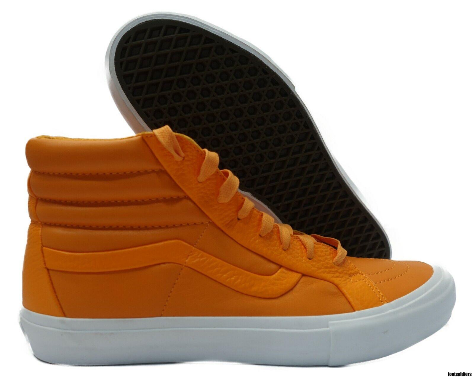 VN0A3DPOOHU Vans SK8-Hi Reissue Premium Leather (Autumn Glory) Men Size 9.5