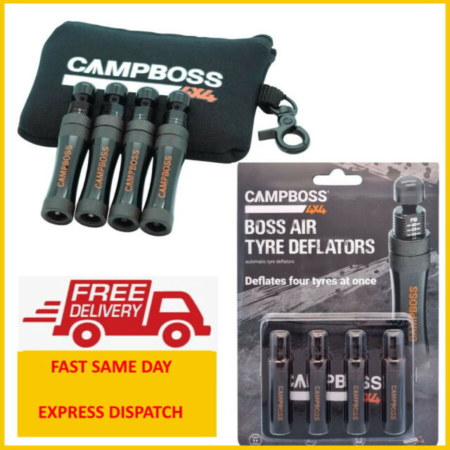 CAMPBOSS 4X4 TYRE DEFLATORS  BY ALL4ADVENTURE, COMPACTS -  EXPRESS DISPATCH