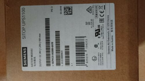 NEW IN ORIGINAL BOX Siemens 6EP4131-0GB00-0AY0 SITOP UPS1100 BATTERY