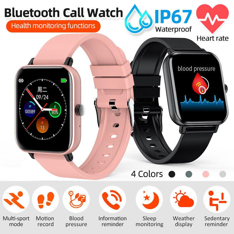 1.54inch Smart Watch Waterproof Heart Rate Blood Pressure Oxygen Tracker Fitness blood Featured fitness heart oxygen pressure rate smart tracker watch waterproof