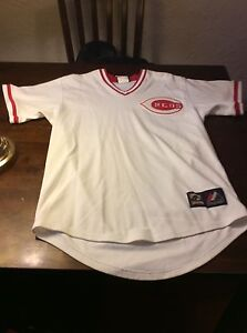 separation shoes 3843a a685b Details about Johnny Bench Jersey