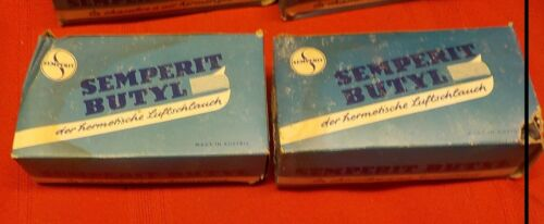Vintage NOS Semperit Butyl 28 X 1//2 1 5//8 1 3//4 Bicycle Bike Tube Tubes Qty of 2