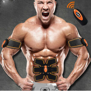 EMS-Abdominal-Exercise-Smart-ABS-Stimulator-Training-Gear-Muscle-toning-belt-Abs